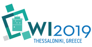 Call for Papers | Web Intelligence 2019